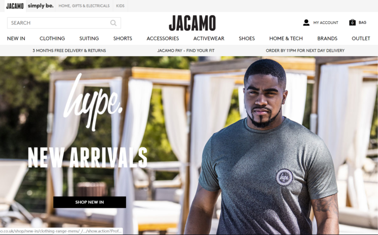 Jacamo Discount Code, Promo Codes & Jacamo Discount screenshot