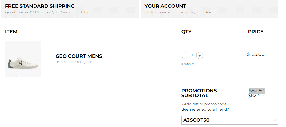 Barefoot Shoes promo code