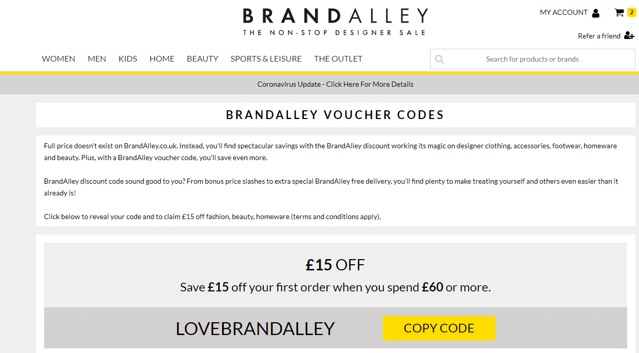 brandalley vocuher code