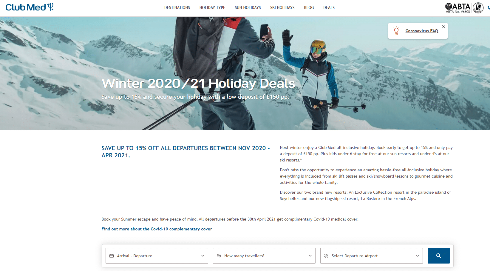 Club Med offer