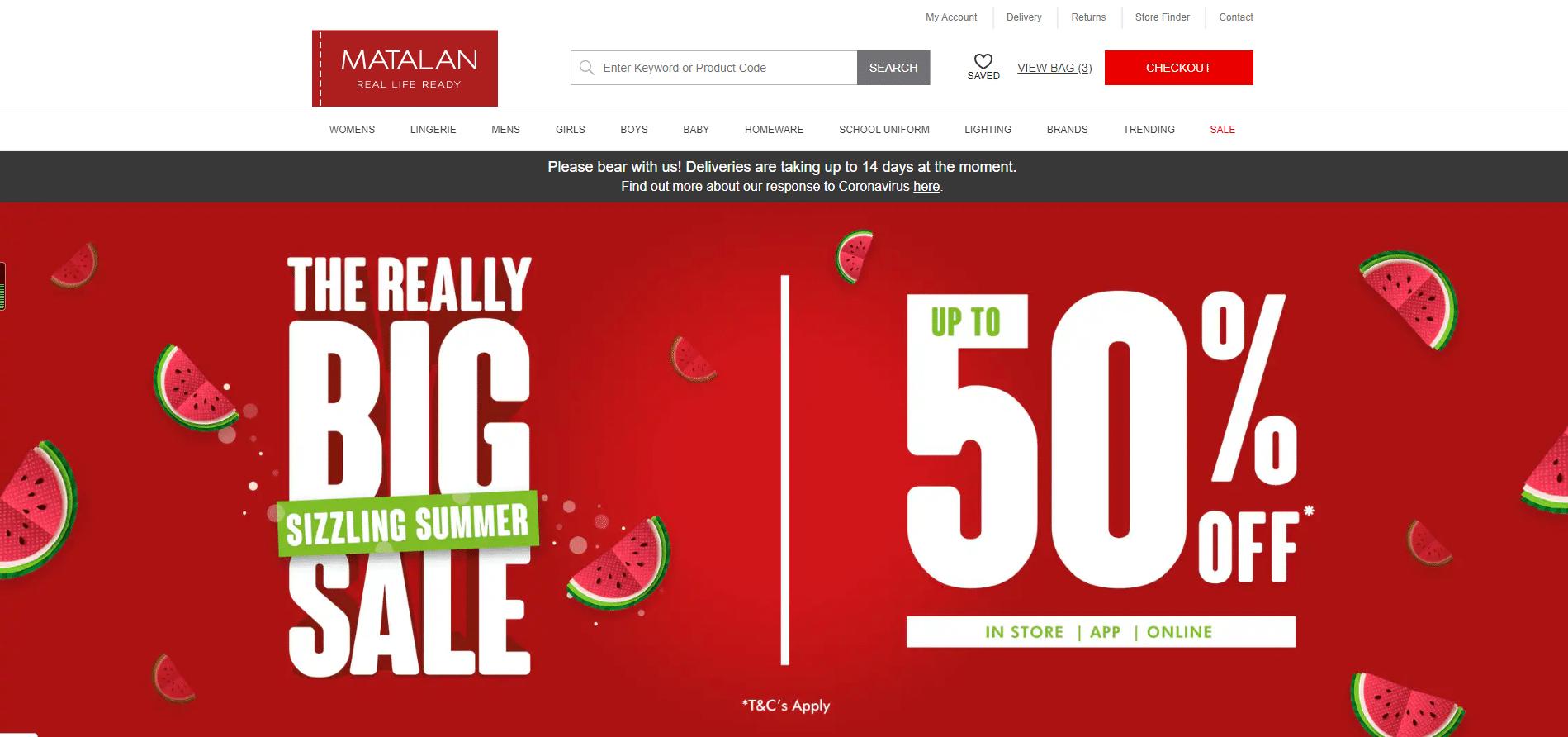 matalan discount