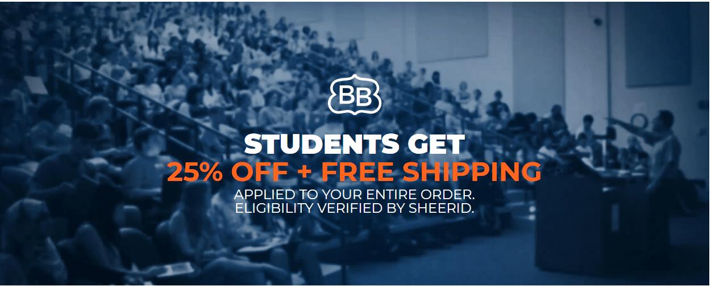 brooklynbedding.com student offer