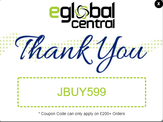 eGlobal Central $5 off referral code