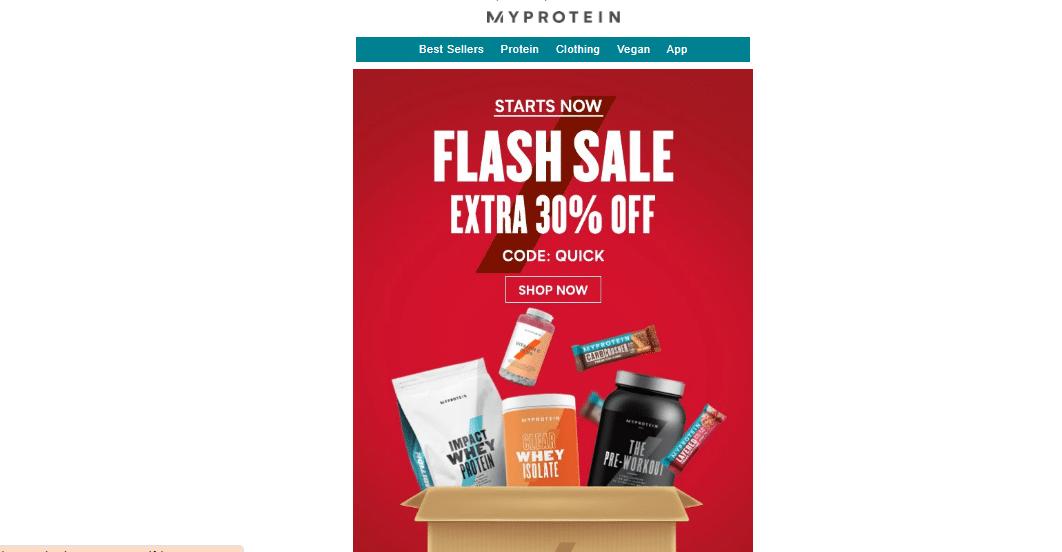 myprotein.com 30% off promo code