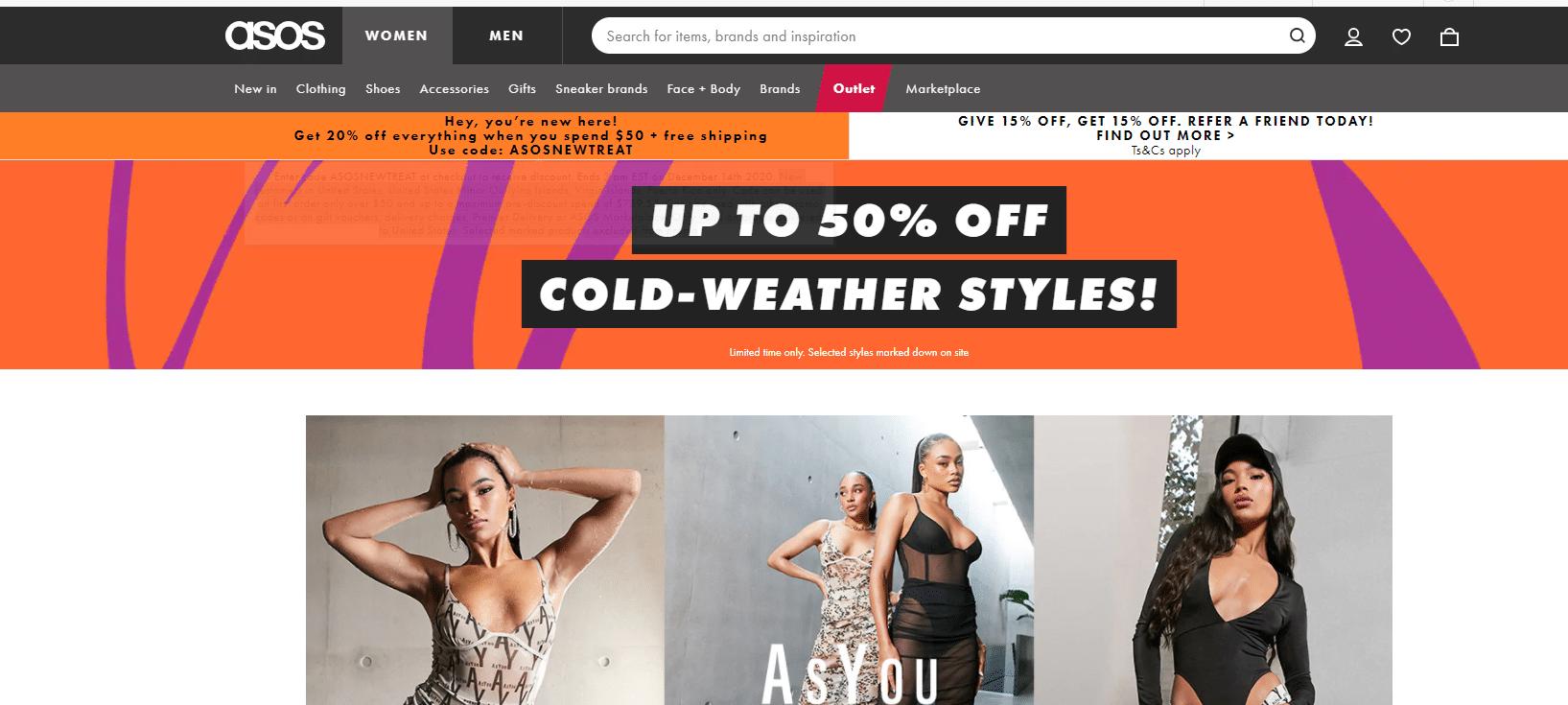 20% OFF ASOS Promo Code