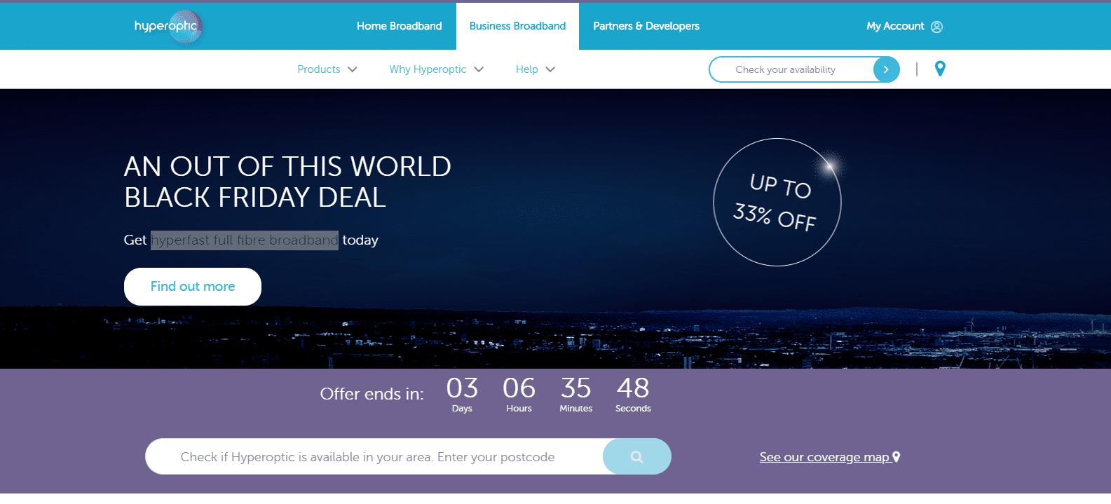 hyperoptic.com 33% off discount code