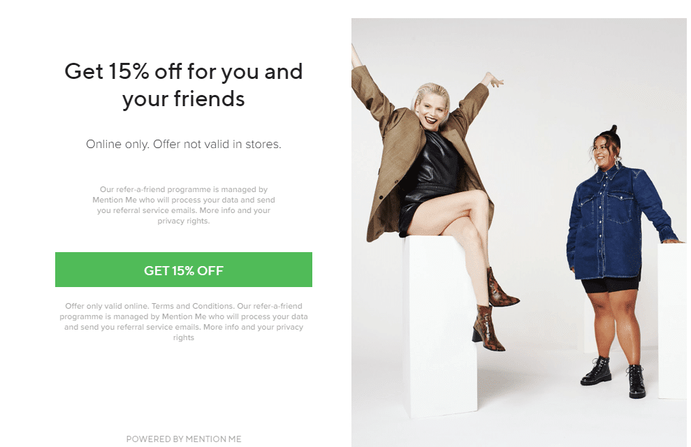 schuh 15% refer a friend discount