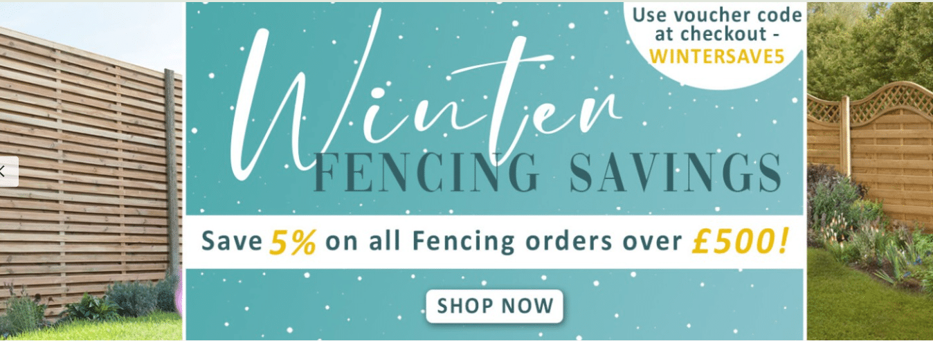 buyfencingdirect.co.uk 5% off promo code