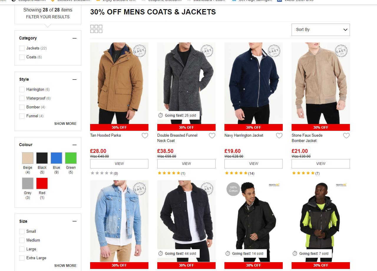 matalan 30% off discount