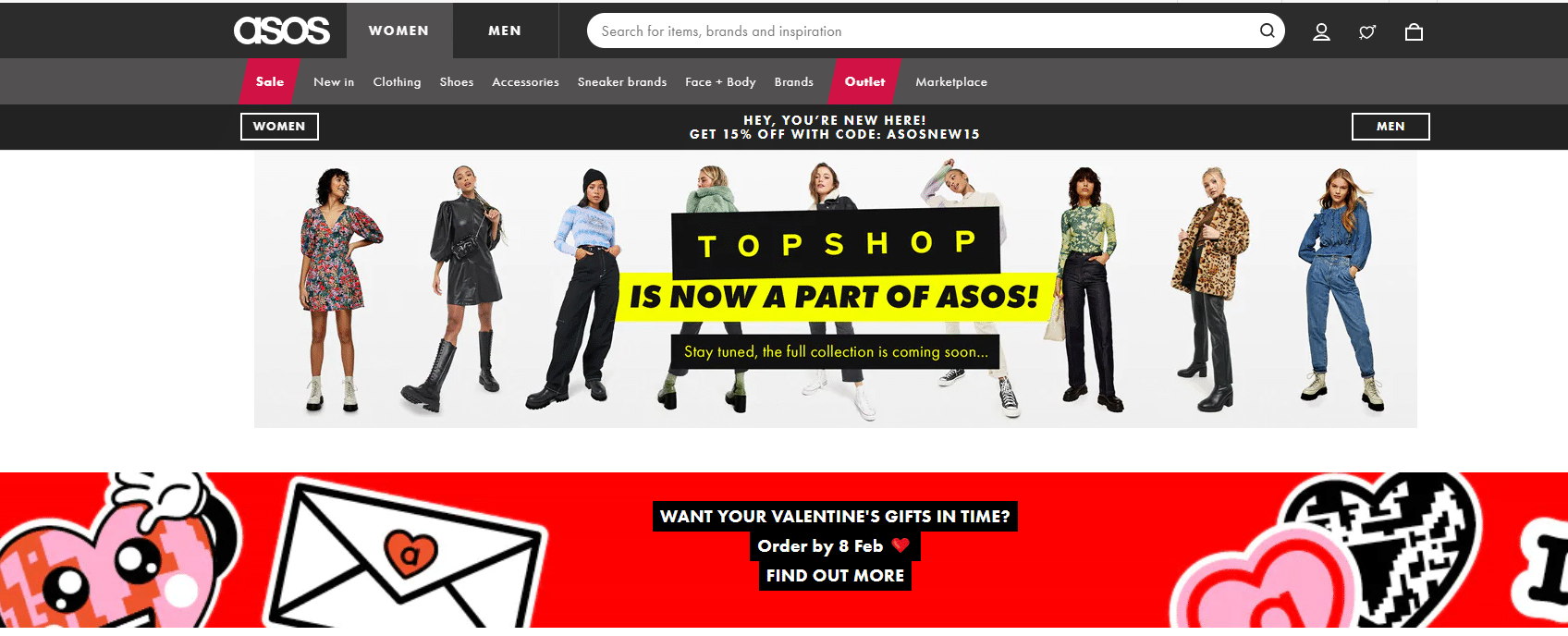 asos 15% off coupon code for first order