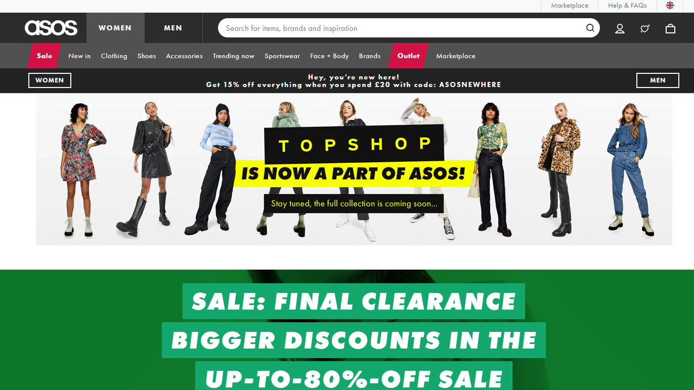 asos 15% off promo code for first order