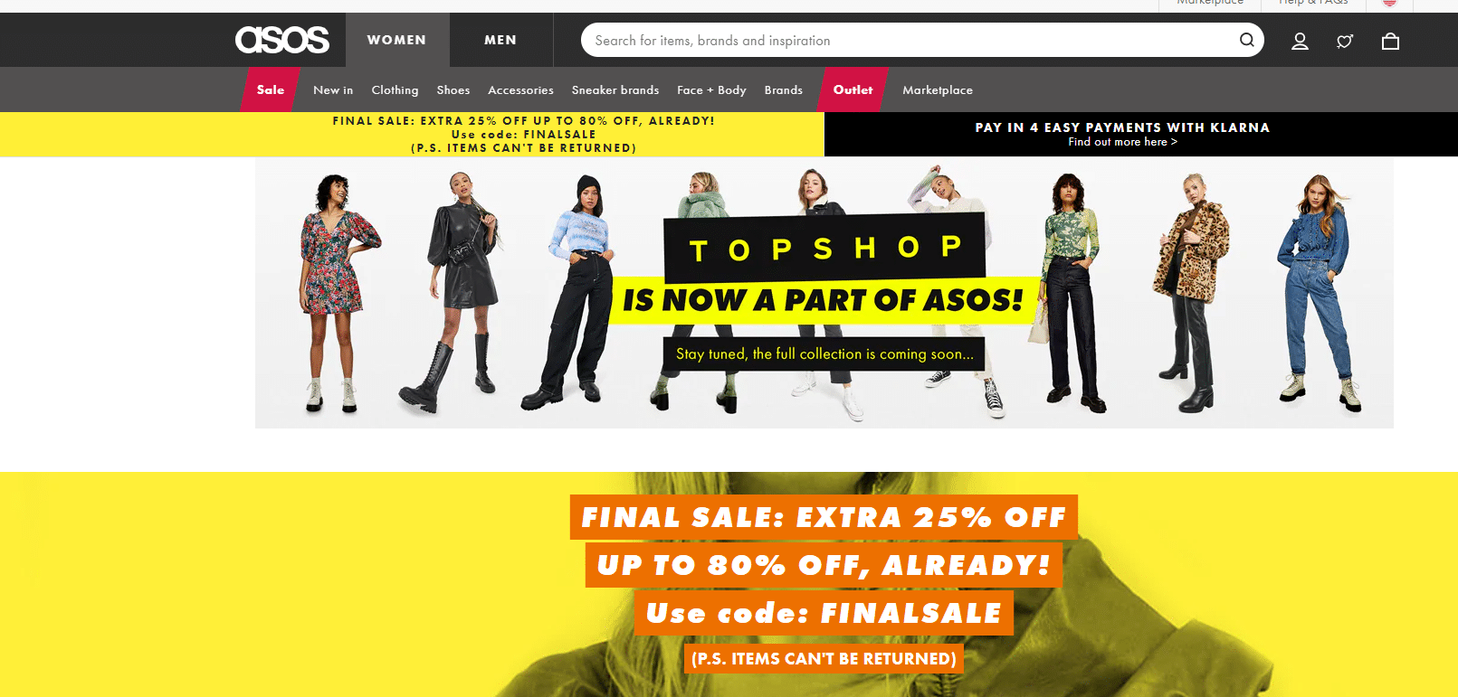asos 25% off promo code