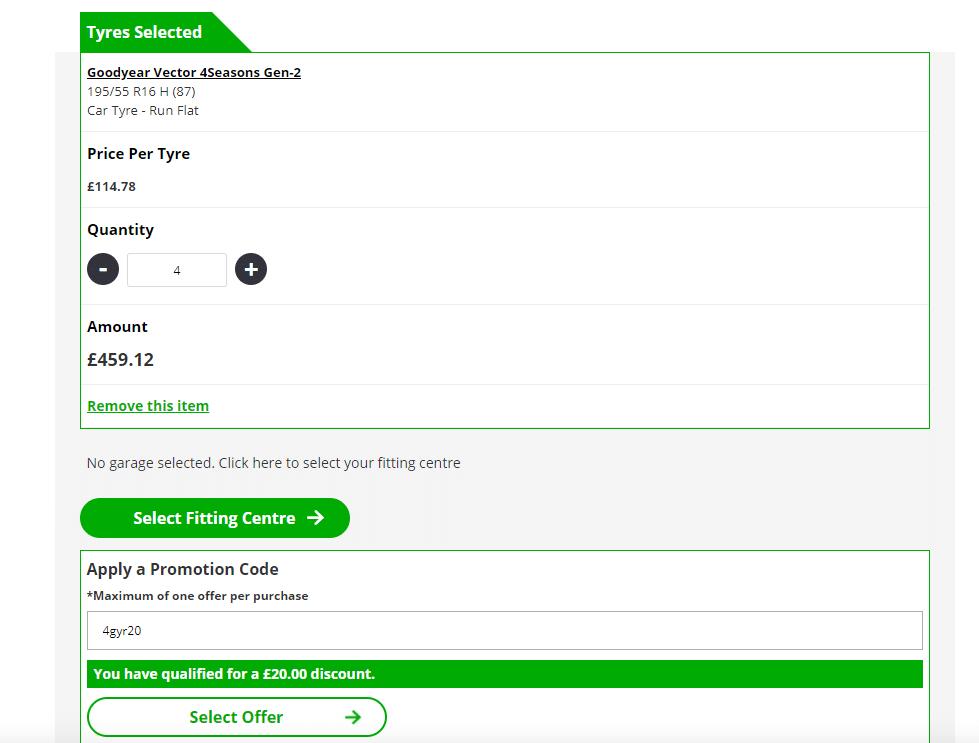 blackcircles.com £20 off discount code